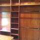 Custom woodwork closet